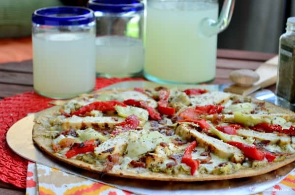 Artichoke Chicken and Bacon Grilled Pizza #WorldMarketTribe #WorldMarketLove4Outdoors #Sponsored