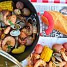 Clam and Shrimp Boil