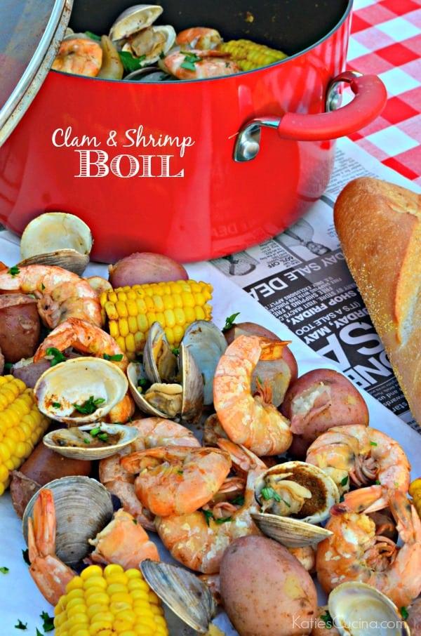 Clam and Shrimp