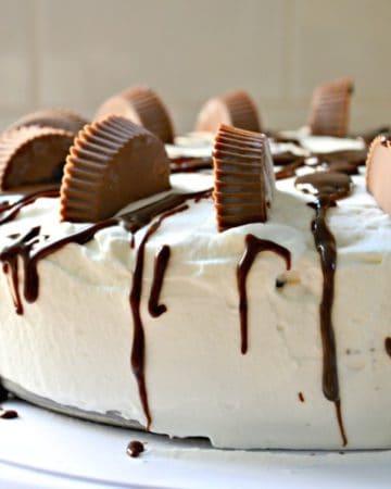 Peanut Butter Fudge Ice Cream Cake