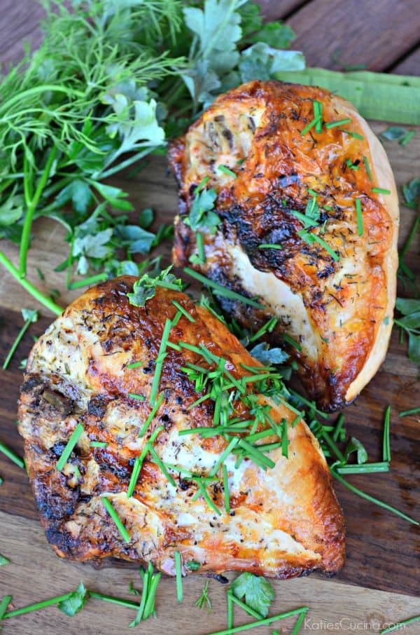 Lemon & Herb Grilled Chicken