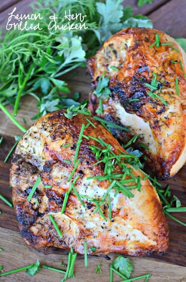 Lemon & Herb Grilled Chicken