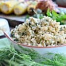 Spinach & Feta Brown Rice