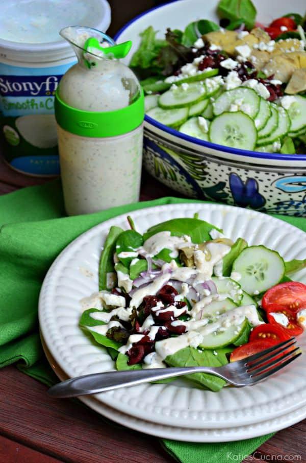 Creamy Greek Salad Dressing