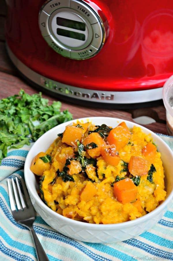 Butternut Squash and Kale Risotto Recipe
