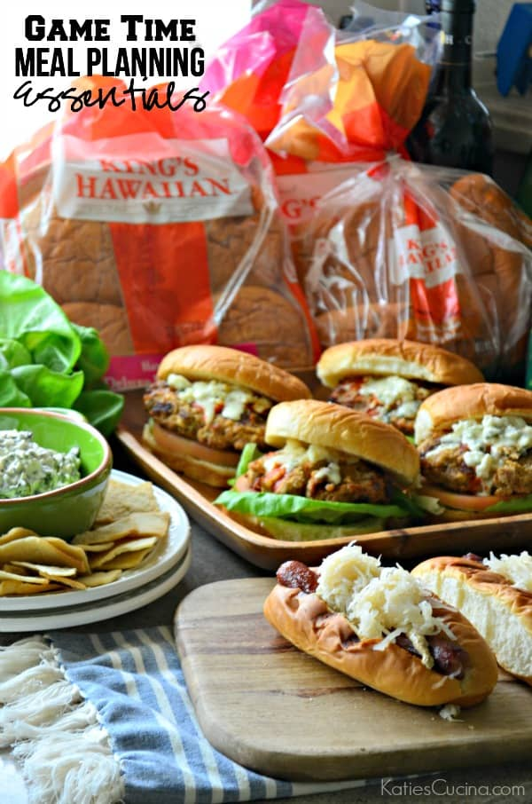 Game Time Meal Planning Essentials #KHGameTime #ad