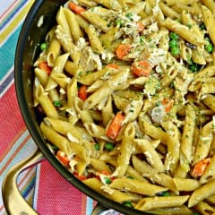 One Pot Chicken Pot Pie Pasta