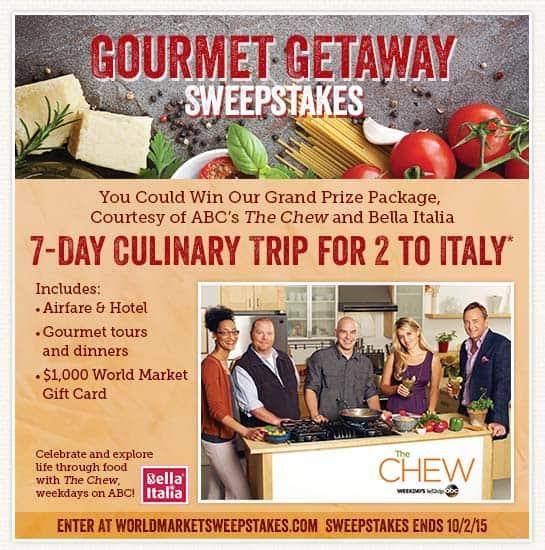 World Market Gourmet Getaway