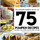 75 Pumpkin Recipes