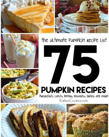 75 Pumpkin Recipes