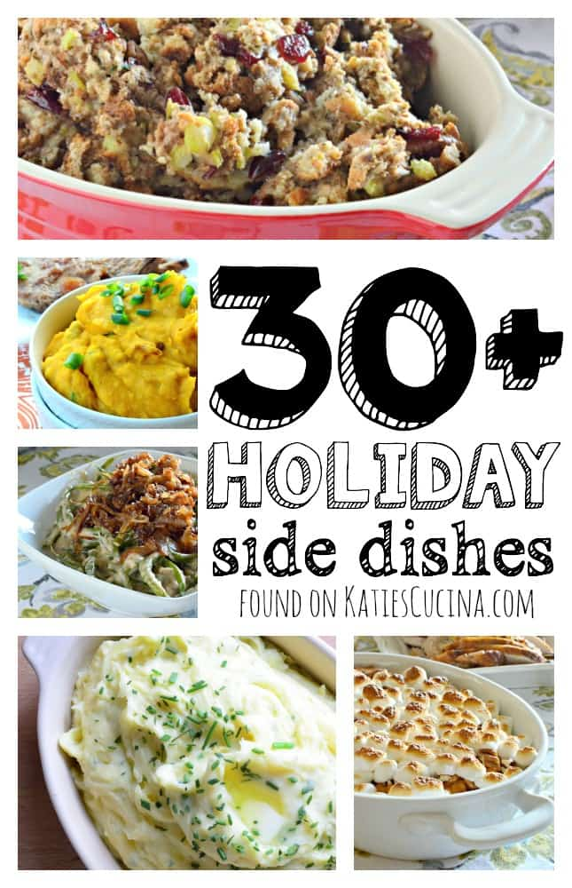 30+ Holiday Side Dishes Recipes