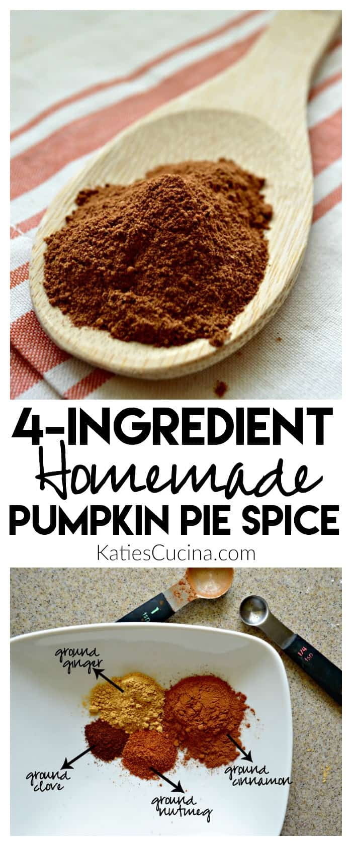 4-Ingredient Homemade Pumpkin Pie Spice