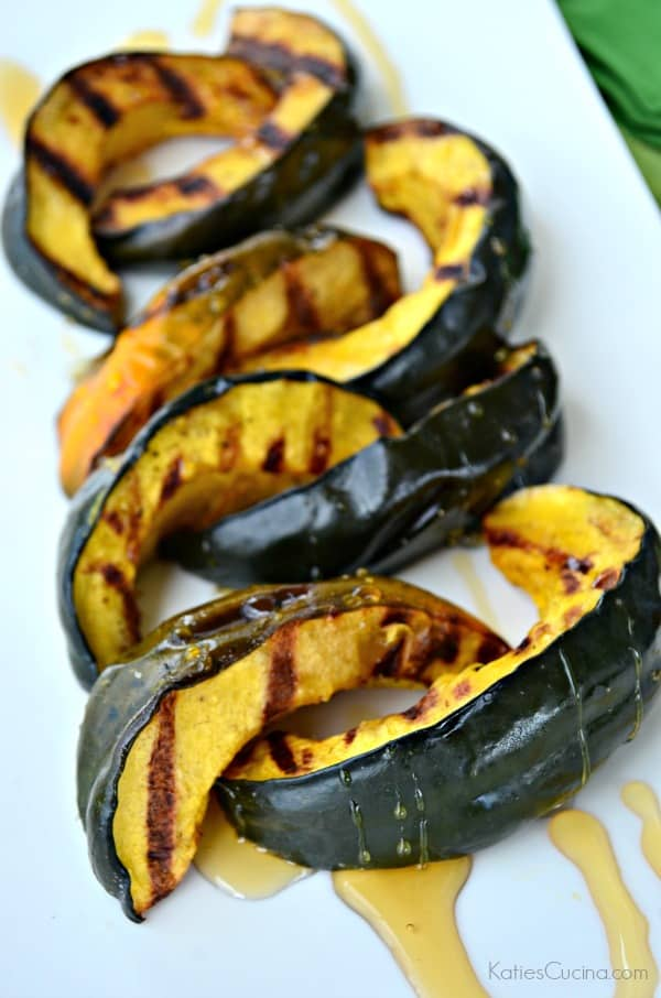 In less than 30 minutes you have a seasonal holiday side dish that your friends and family can enjoy. If your looking to switch up your Christmas dinner I invite you to try my recipe for Grilled Honey Acorn Squash.