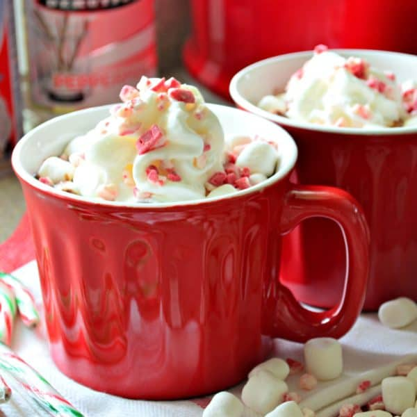 Slow Cooker Boozy Peppermint Hot Cocoa Katie S Cucina