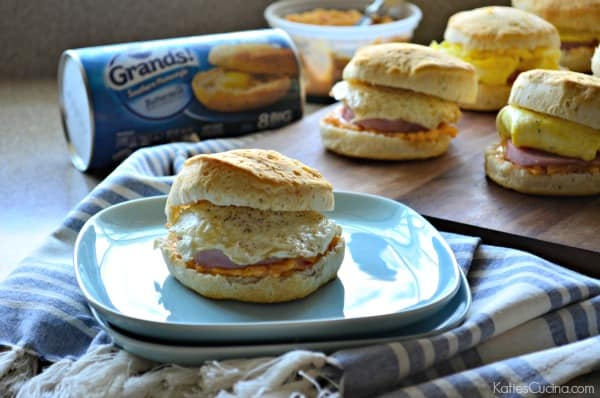 Southern Biscuit Breakfast Sandwiches 1