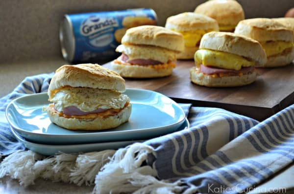 Southern Biscuit Breakfast Sandwiches