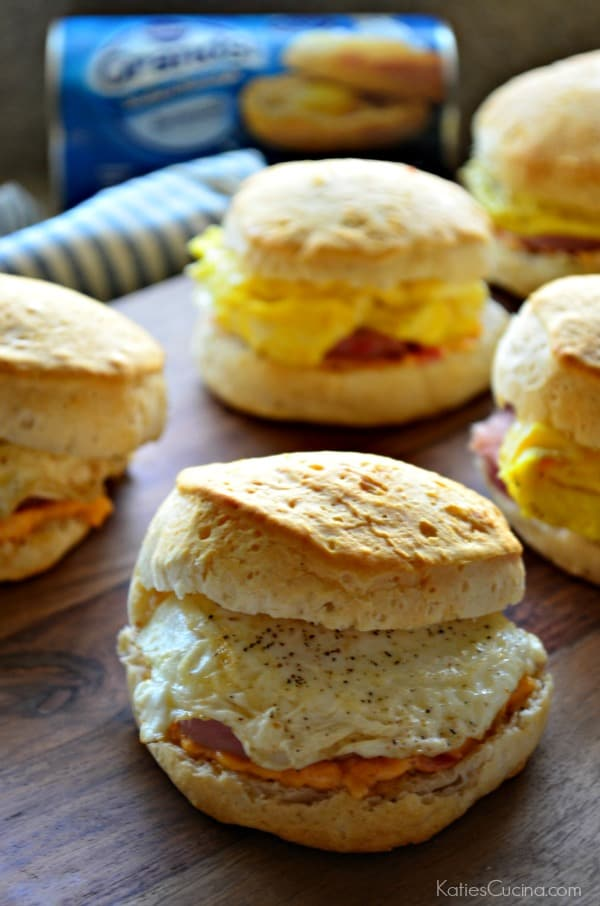 Southern Biscuit Breakfast Sandwiches 3