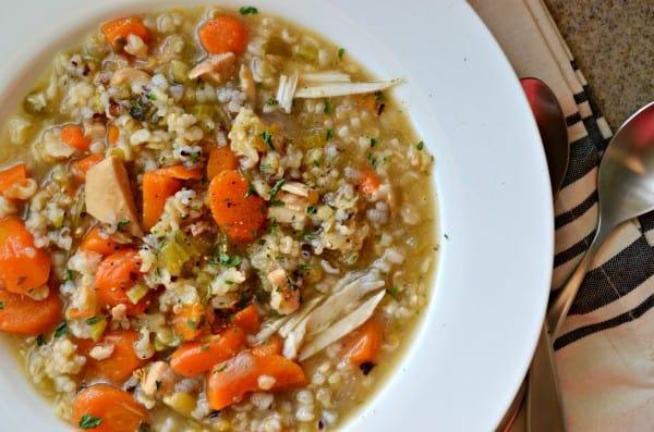 Turkey & Wild Rice Soup Recipe