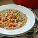 Turkey & Wild Rice Soup Square