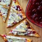 Turkey and Cranberry Flatbread