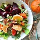 Beet, Bacon, and Citrus Salad with Garlic-Citrus Vinaigrette