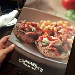 Carrabba's Italian Grill Menu square