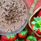 Chocolate Strawberry Yogurt Dip