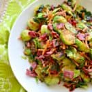 Brussels Sprouts with Corned Beef