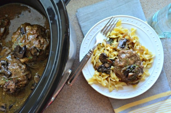 Slow Cooker Salisbury Steaks