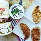 Flax Chia Coconut Yogurt Chicken Strips #StonyfieldBlogger