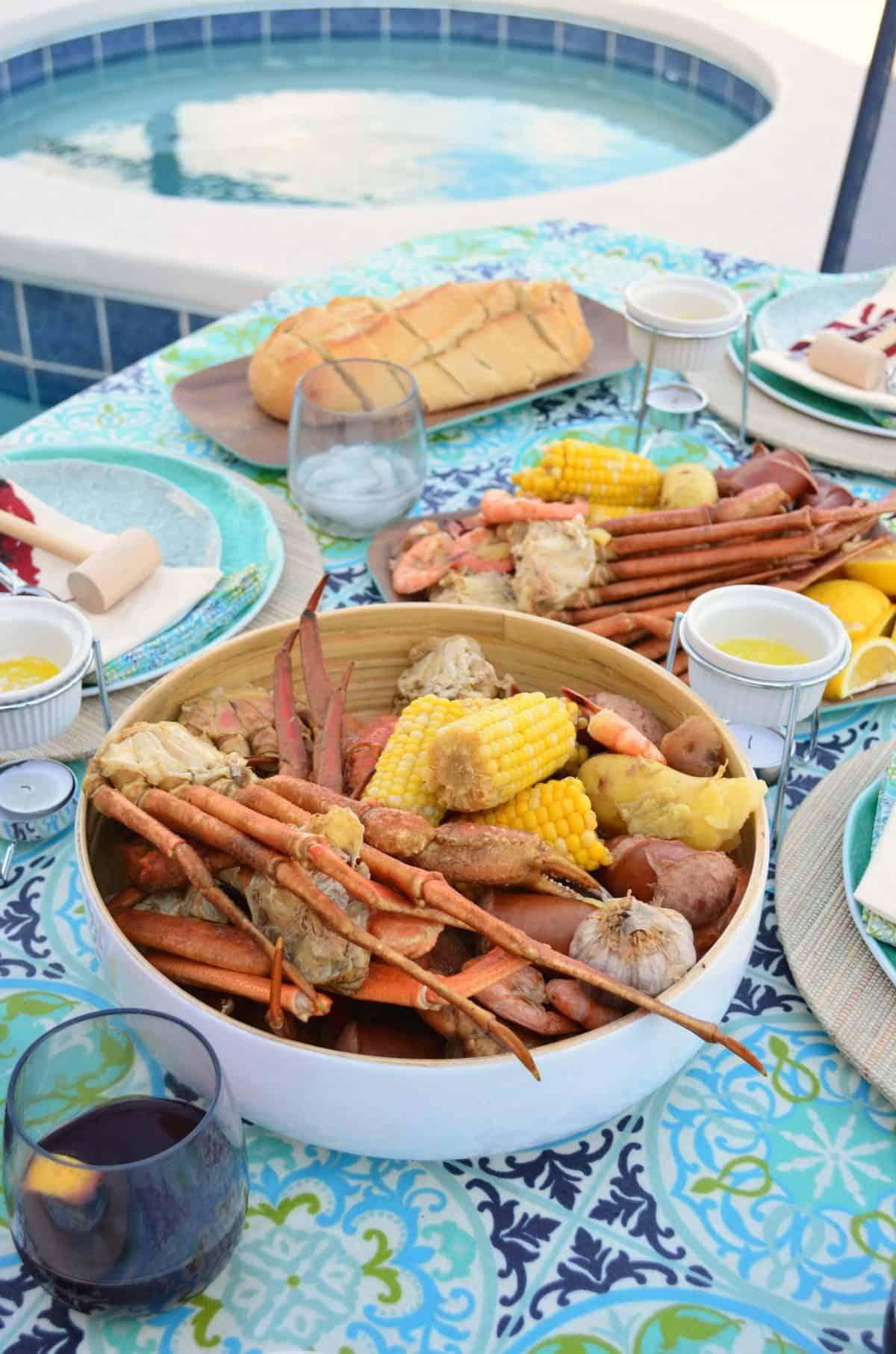 How To Host A Crab Leg & Shrimp Boil