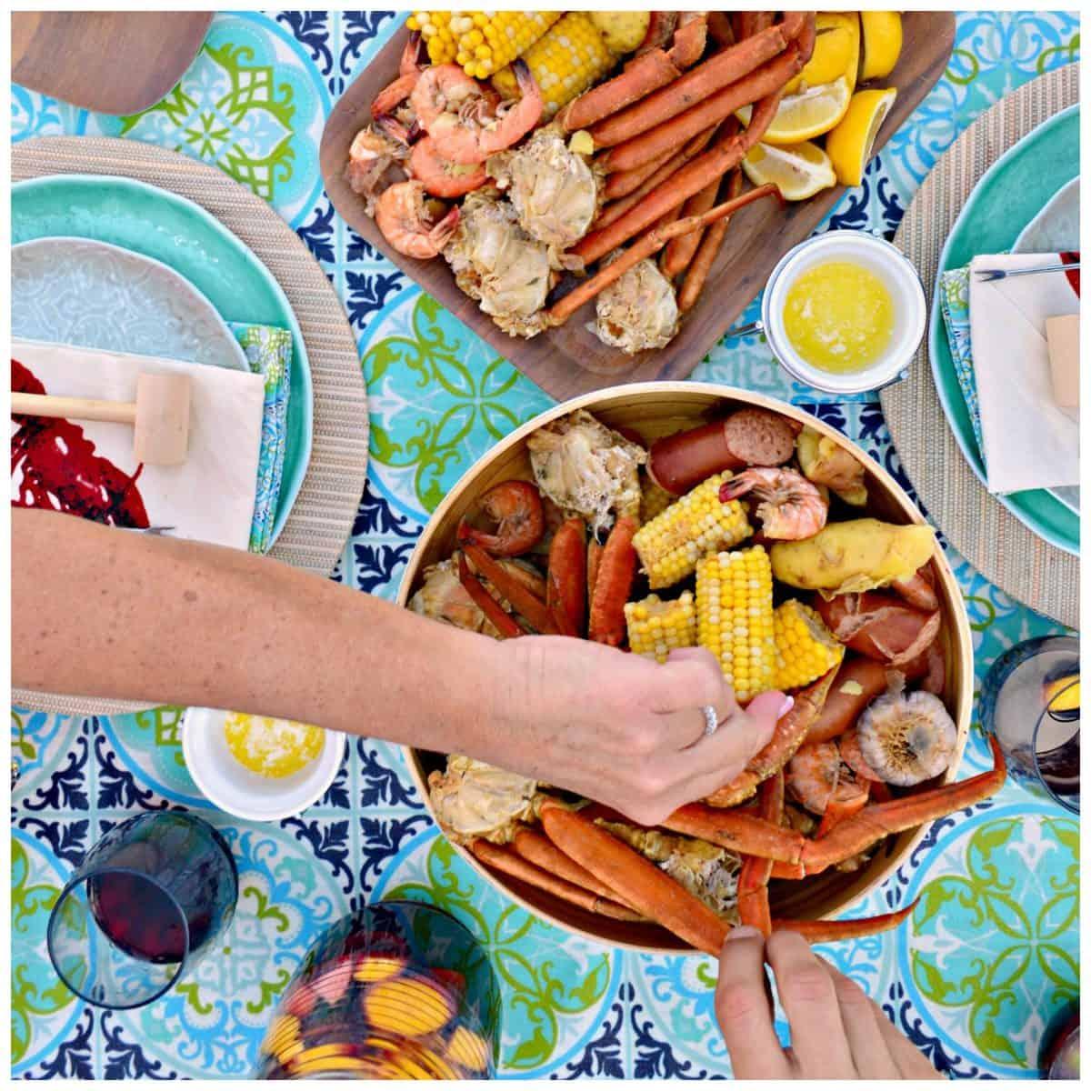 Crab Leg & Shrimp Boil