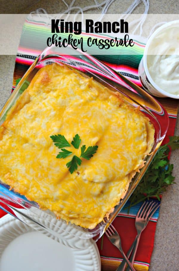 King Ranch Chicken Casserole