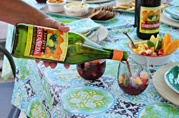 Paella Party with Sangria #CelebrateOutdoors