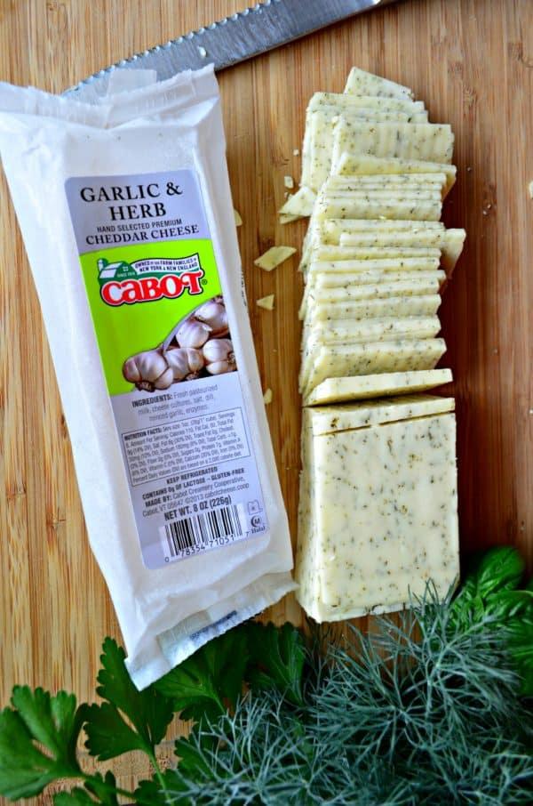 Stove-top Macaroni & Garlic Herb Cheddar Cheese
