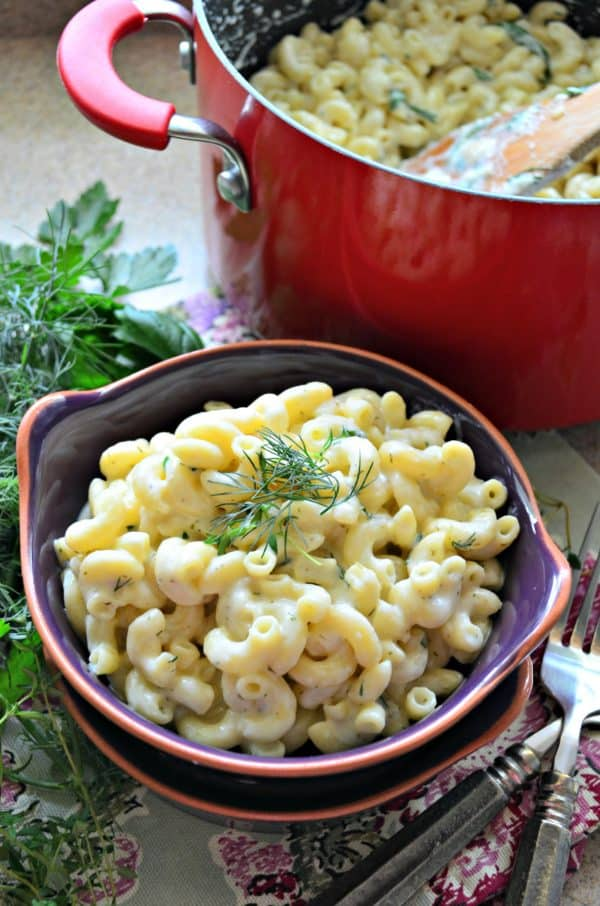 Stove-top Macaroni & Garlic Herb Cheddar Cheese