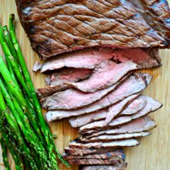 Grilled Balsamic London Broil