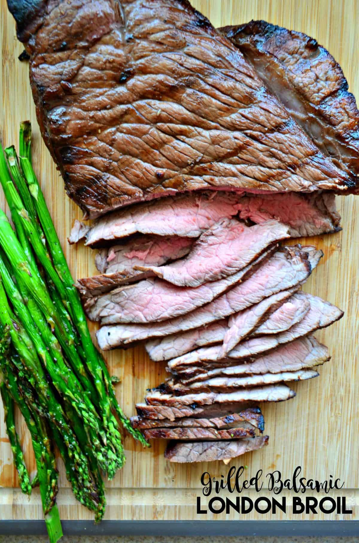 how to cook london broil on bbq