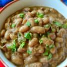 Slow COoker Ranchero Beans
