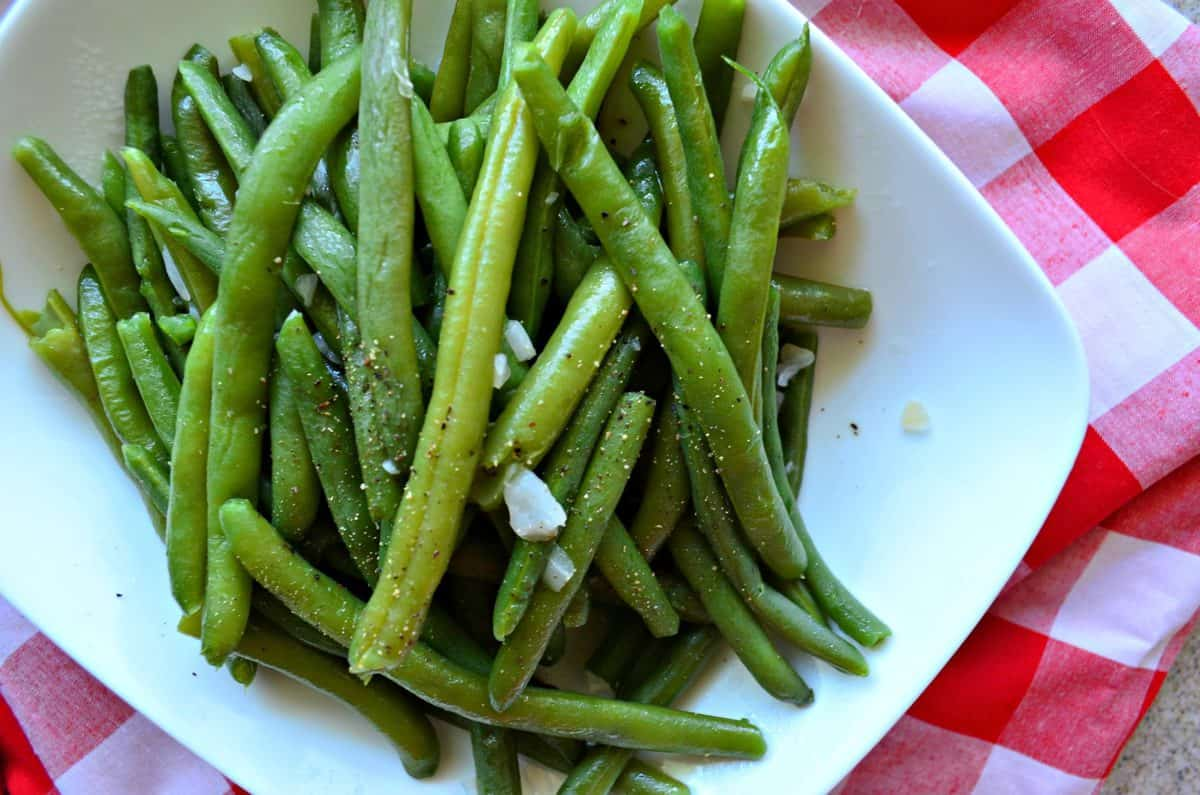 Barbecue Style Green Beans