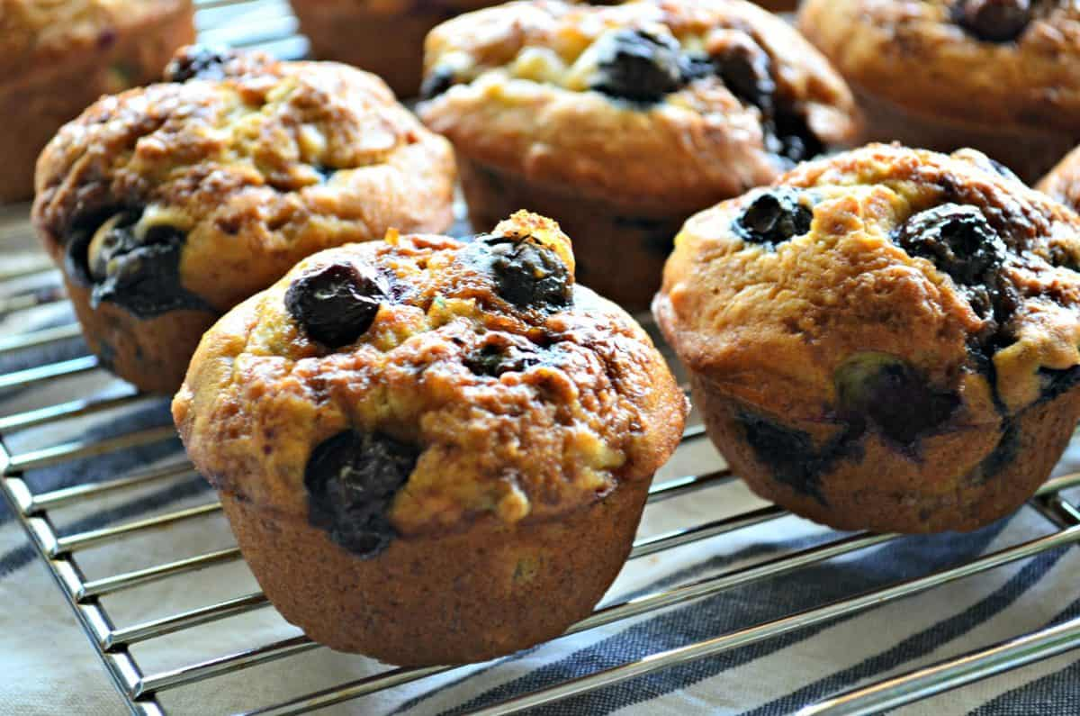 Banana Blueberry Muffins - Katie's Cucina