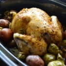 Slow Cooker Chicken And Potato Dinner