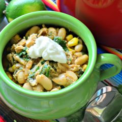 20 minute White Bean Chicken Chili