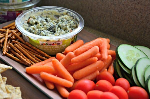 GOODFOODS Spinach and Kale Dips #ShareTheGoodness #Ad #GOODFOODS