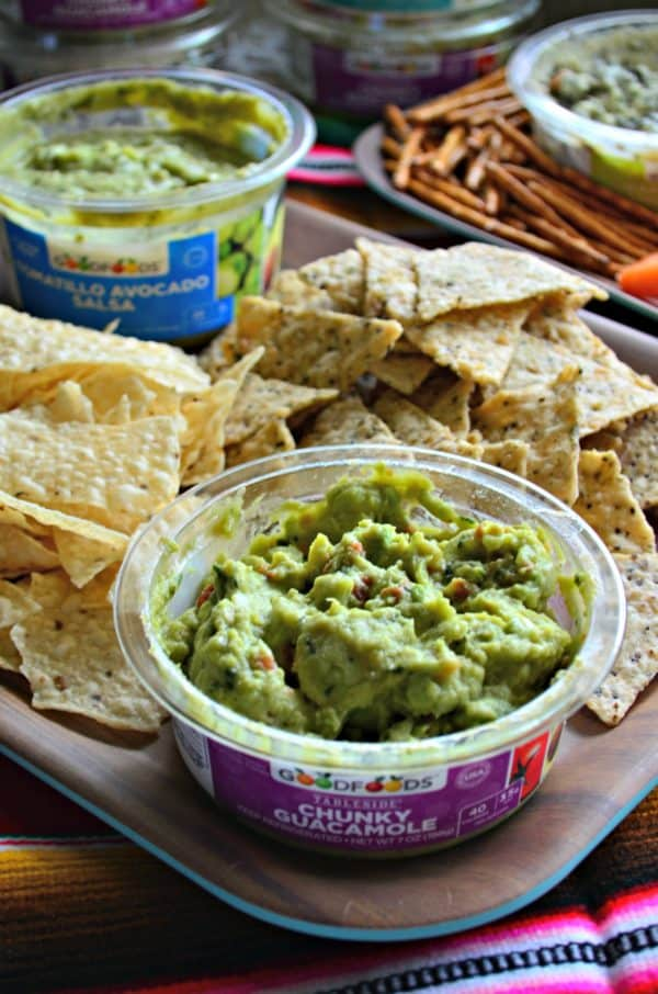 GOODFOODS Tableside Chunky Guac #ShareTheGoodness #Ad #GOODFOODS