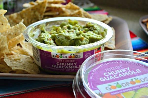 GOODFOODS Tableside Chunky Guacamole #ShareTheGoodness #Ad #GOODFOODS