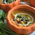 Chipotle Pumpkin Turkey Soup