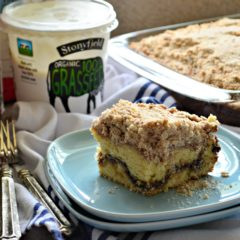 Cinnamon Streusel Yogurt Coffeecake
