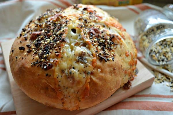 how to make bagel bread