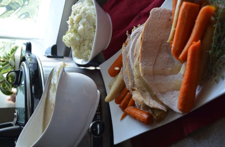 Slow Cooker Turkey Breast with Carrots & Parsnips